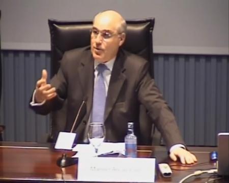 Manuel Areán Lalín, catedrático de Dereito Mercantil na Universidade da Coruña - Curso de Marcas